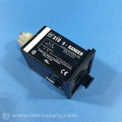 Automatic Timing & Control 3-0319E100F1C Time Relay, 24 / 240 VAC USIP