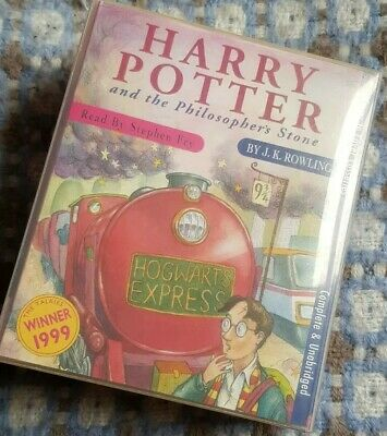 Harry Potter and The Philosopher's Stone Audio Cassette Tapes 6 Complete