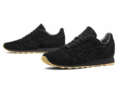New Reebok Classic Leather TDC Men's Shoes Size 10 Black/White Gum BD3230