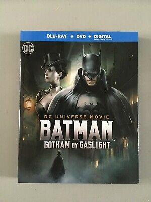 DCU Batman: Gotham by Gaslight (Blu-Ray/DVD, 2018); Never Watched