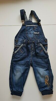 b8d4a2a2ad name it Baby Jungen Jeans Latzhose Overall in blue denim Gr.80 86 👍Cool