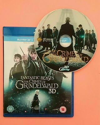 Fantastic Beasts: The Crimes of Grindelwald - 3D Blu-ray Disk - Region Free