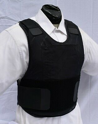 Medium IIIA Concealable Body Armor Carrier BulletProof Vest with Inserts