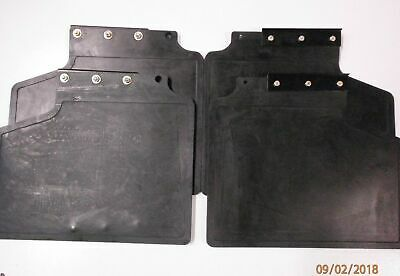 Mudflaps Set of 4 With Fixings for Range Rover Classic   MXC5587