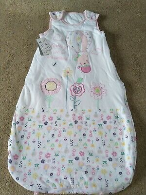 Baby Girls Sleeping Bag 1.5 tog 12-18 months BNWT