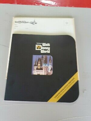 "1971 ""The Story of Walt Disney World"" Commemorative Edition Book w Rare Envelope"