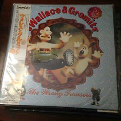 Laserdisc - Wallace and Gromit : The Wrong Trousers SRLD 1882  Japan Release