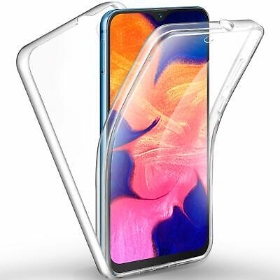 Coque Samsung Galaxy A10 Housse Protection 360° Intégrale Silicone Transparente