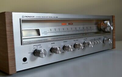 Pioneer SX-450 Vintage AM/FM Stereo Receiver 1976