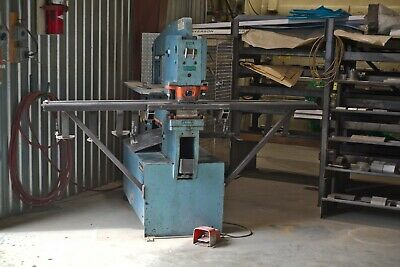 65 Ton Scotchman 6509 Ironworker with Tooling in Excellent Condition
