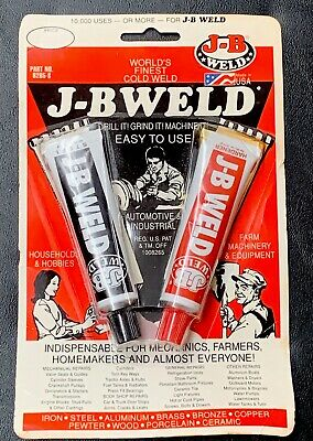 JB Weld 8265-S 1oz Tubes Adhesive Strongest Steel Reinforced 2 Part Cold Epoxy