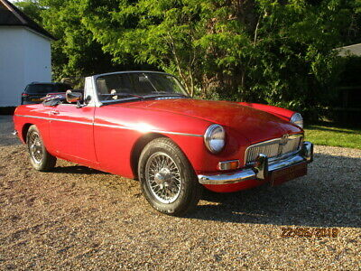 1972 Mgb Roadster (Card Payments Accepted & Delivery)