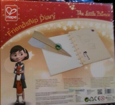 Hape The Little Prince Friendship Diary 50 Pieces Make Your Own Kit Journal NEW