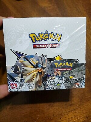 Pokemon TCG Sun & Moon Ultra Prism Factory Sealed Booster Box - 36 packs