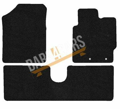 04-09 RENAULT SCENIC BLACK /& BLUE TRIM CAR FLOOR MATS