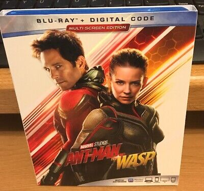 ANT-MAN AND THE WASP [Blu-ray]No Digital Includes Slip Cove Free Shipping in USA