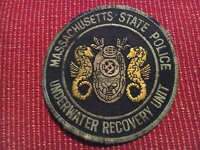 MASSACHUSETTS STATE POLICE Academy Patch - New - $9 99