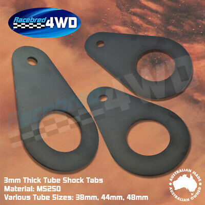 Laser Cut Weld In 3mm Thick Tube Shock Tabs Various Sizes
