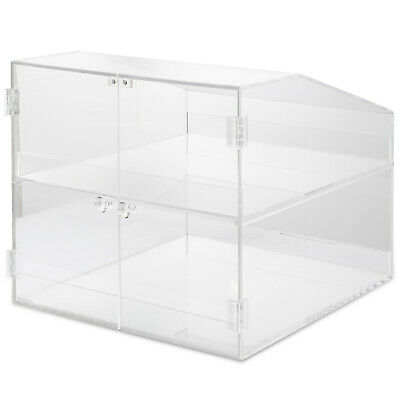 Acrylic Display Cabinet Glued L31 x W36 x H29.5 CM Bakery Removable Showcase