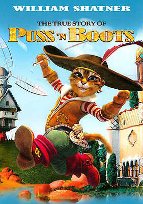 The True Story of Puss N Boots (DVD, 2011)
