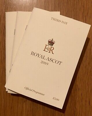 Third Day Royal Ascot 2019 Official Programme