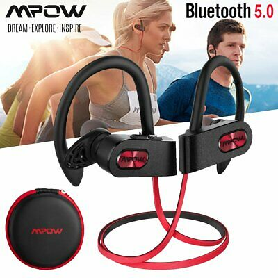 Mpow Flame2 Wireless Bluetooth 5.0 Headset Sports Headphone HiFi Stereo Earphone