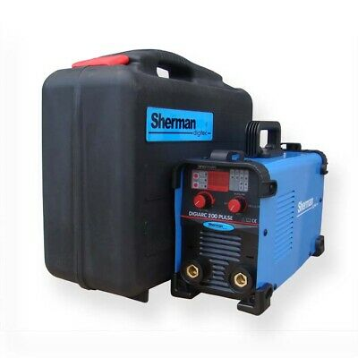Sherman DIGIARC 200 PULSE Inverter ARC Stick Welder Machine 200A IGBT 200Amp MMA