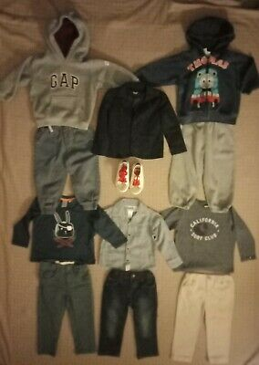 Boys Clothes Size 2 Bulk Pack With 11 Items Inc Bardot Junior and New joggers