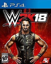 WWE 2K18 Sony PlayStation 4 Video Game PS4 New Sealed