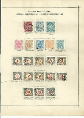Bosnia Nice Old Page Mint-Used