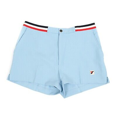 ad66800276 Vintage Baby Blue Tennis Shorts | 36"