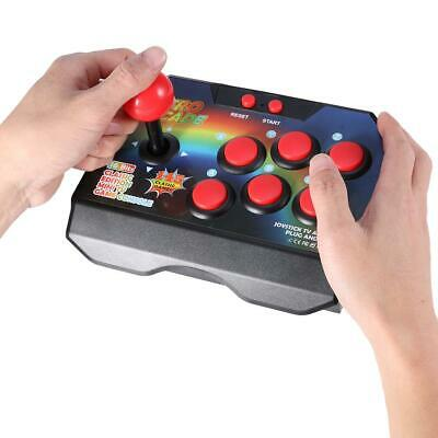 145 in 1 Arcade Joystick Game Controller 6 Button AV Plug Gamepad Console Player