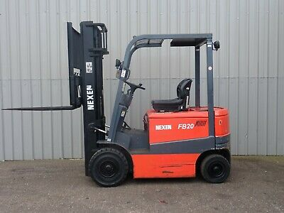 Nexen Fb20 Used Electric Forklift Truck. (#2474)