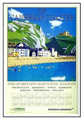 North East Coast Railway Vintage Retro Oldschool Old Good Price Poster