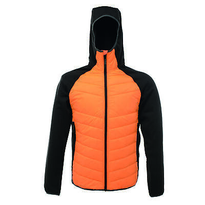 Regatta Deerpark Mens Deerpark Warm Insualted Hooded Hybrid Jacket