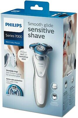 Philips S7530/50 Series 7000 Mens Wet & Dry Electric Shaver with Cleansing Brush