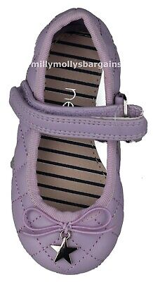 New Baby Girls Lilac Purple NEXT Shoes Size 4 5 Infant