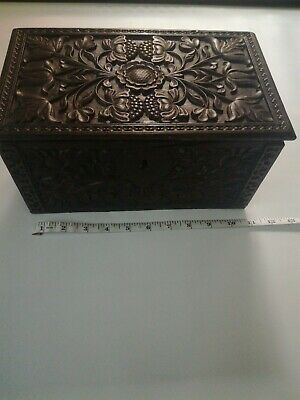Carved Jacobean Table Box