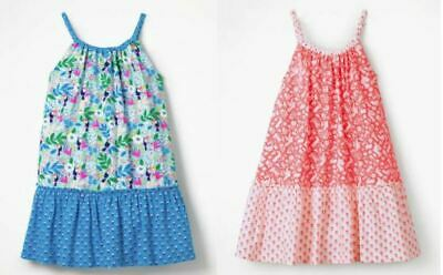 Boden Strappy Hotchpotch Dress Ex Mini Boden Girls  Age 2-16 Years RRP £30