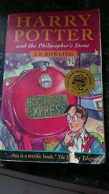 HARRY POTTER THE PHILOSOPHERS STONE BLOOMSBURY PB 1st edition 32nd print