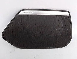 New Genuine Audi A7 Bose N/S Left Front Door Black Speaker Cover 4G8035419A 4Pk