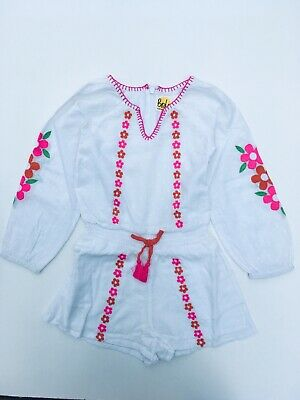 Playsuit Girls Floaty Woven Short Ex Mini Boden   Age 2-16 Years RRP £32