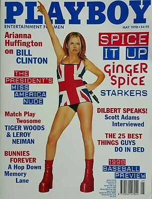 Playboy May 1998 Geri Halliwell Spice Girls Mens Vintage Adult Glamour FREE POST