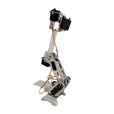 7-DOF Mechanical Arm Robot Clamp DIY without Control for Arduino DIY Kit
