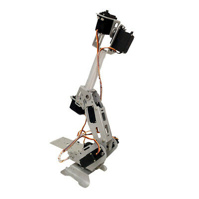 7-DOF Mechanical Arm Robot Clamp DIY No Control for Arduino Kit 180 degree