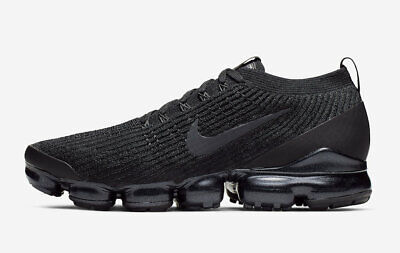 Nike Air Vapormax Flyknit 3 Triple Black Anthracite White Men's AJ6900-004