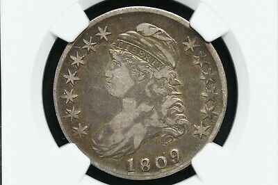 1809 Silver Capped Bust Half Dollar NGC VF20
