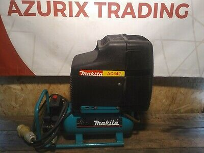 Makita AC640 Air Compressor 110v 6L 1.5hp Motor FREE POST TO UK MAINLAND