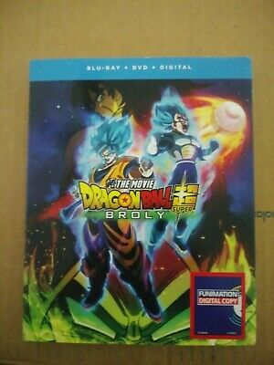 Dragon Ball Super: Broly (Blu-ray + DVD) SEALED
