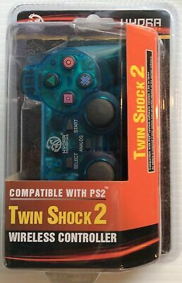 PS2 Wireless Control Blue Color Brand New Free Shipping